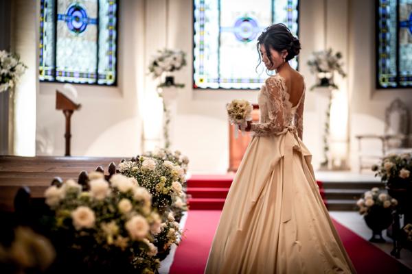 ウエディングドレス|教会式|ピエトラセレーナ