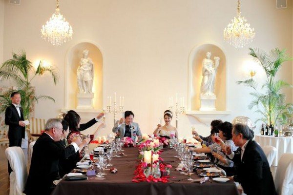 アットホームウエディング|家族だけの結婚式|ピエトラセレーナ