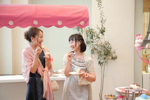 デザートブッフェ|デザートルーム|結婚式