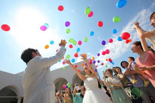 バルーンリリース|結婚式|ウエディングパーティ