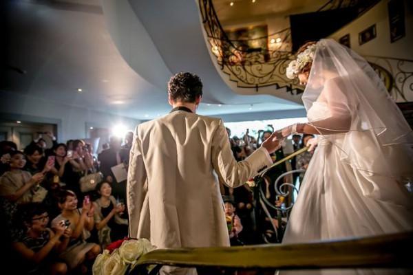 結婚式|入場シーン|ピエトラセレーナ