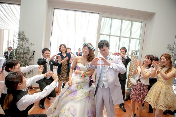 オリジナル人前式で心に残る結婚式!