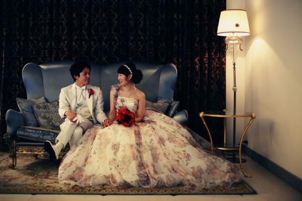 新郎新婦|結婚式当日