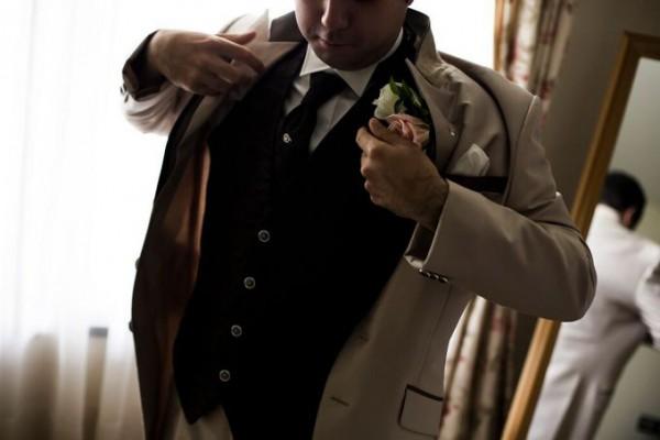 タキシード|新郎|結婚式当日