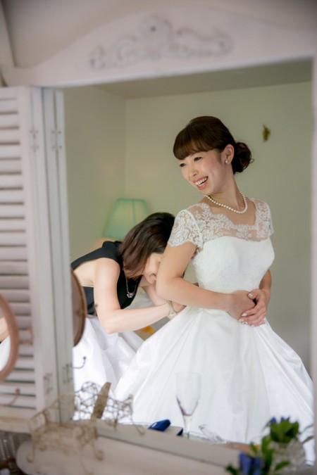 ウエディングドレス|花嫁
