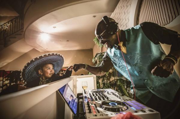 結婚式|DJ|子供
