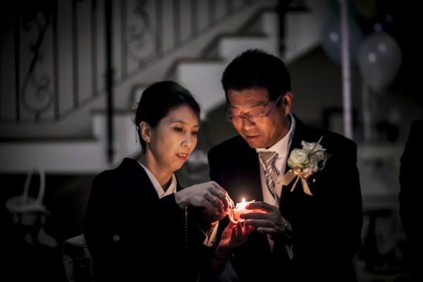 キャンドルリレー|結婚式|両親
