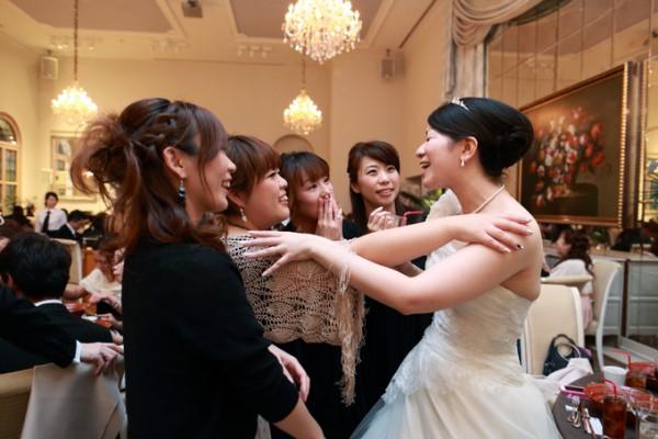 友人の結婚式|花嫁