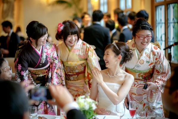 和の結婚式|ブライズメイド
