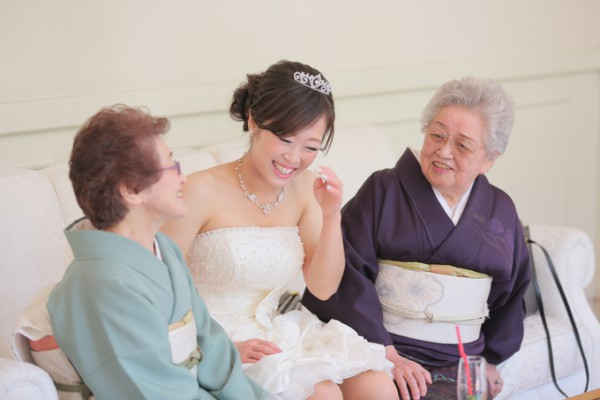 和装|結婚式|花嫁姿