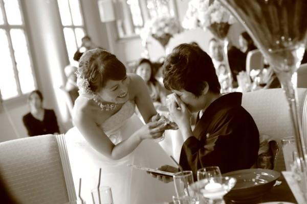 結婚式当日|花嫁と母