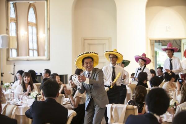 サプライズゲスト|結婚式当日