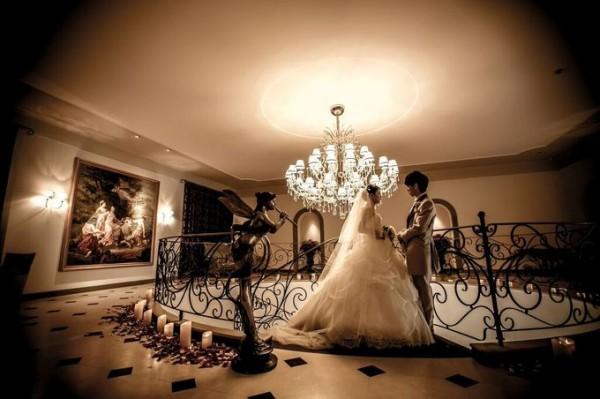 結婚式のワンシーン