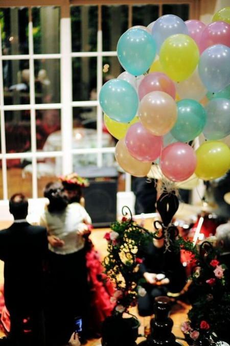 結婚式のディスプレイ