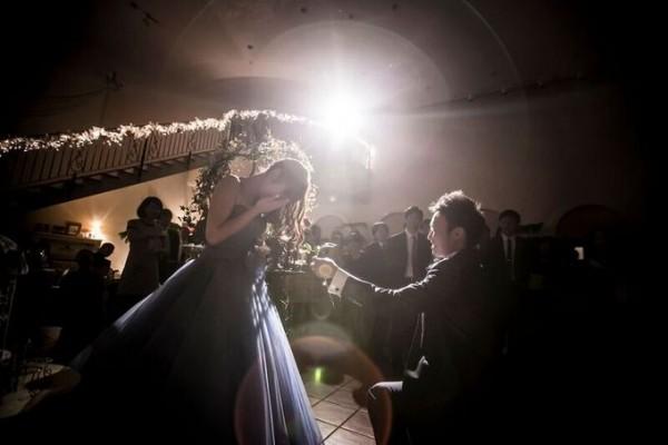 花嫁へのサプライズ