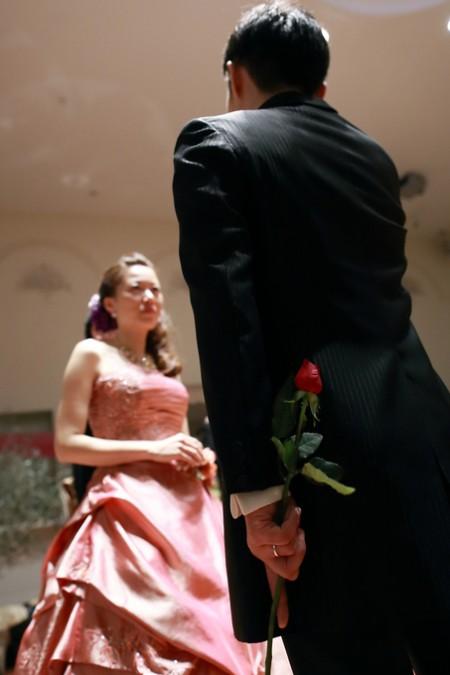 プロポーズ|結婚式当日
