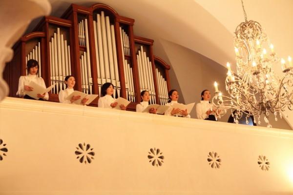 挙式の聖歌隊