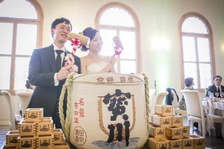結婚式とはかけ離れたイメージを形に!