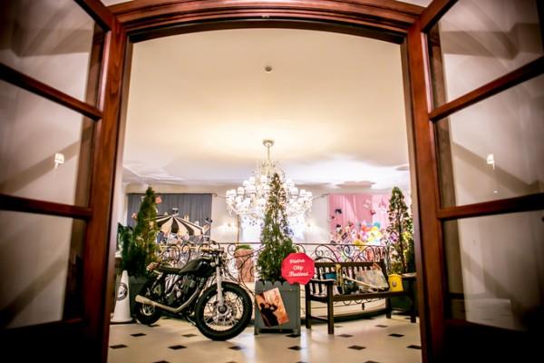 結婚式のディスプレイ|バイク