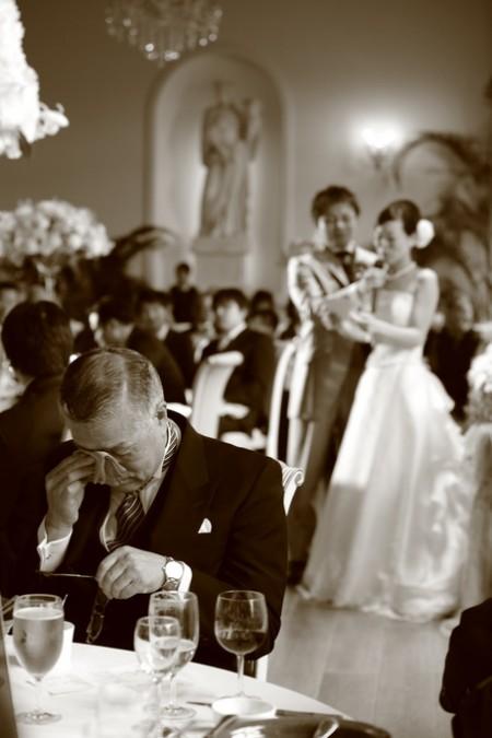 父親|結婚式