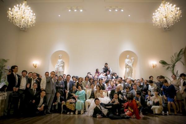 集合写真|結婚式当日