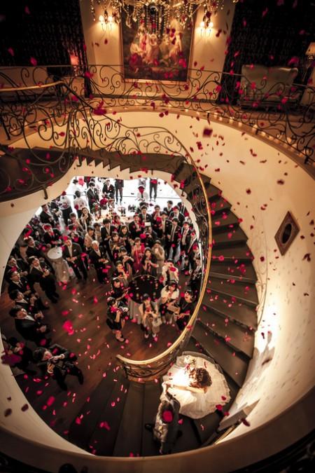 螺旋階段|結婚式場|ピエトラセレーナ