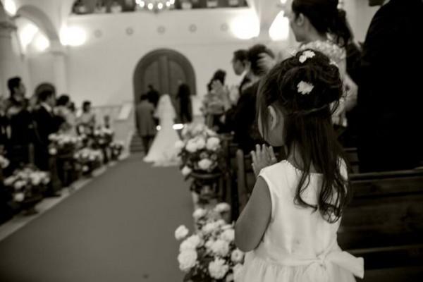 小さな結婚式のゲスト