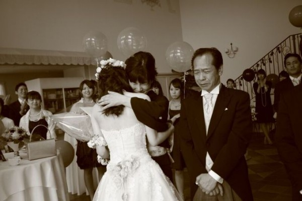 両親と花嫁|ピエトラセレーナ