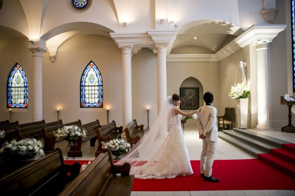 礼拝堂で結婚式|大聖堂|ピエトラセレーナ