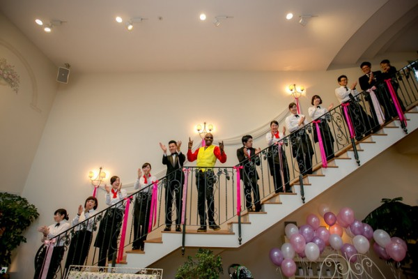結婚式場のスタッフ|ピエトラセレーナ