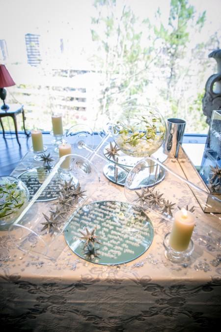 結婚式のディスプレイ|ピエトラセレーナ