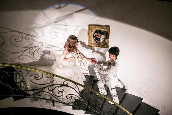 螺旋階段|結婚式|ピエトラセレーナ