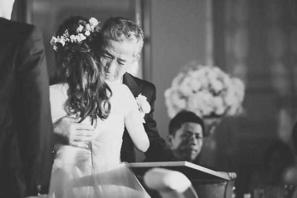 花嫁と父|結婚式当日