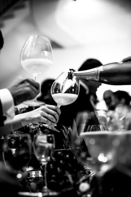 乾杯のシーン|ピエトラセレーナの結婚式