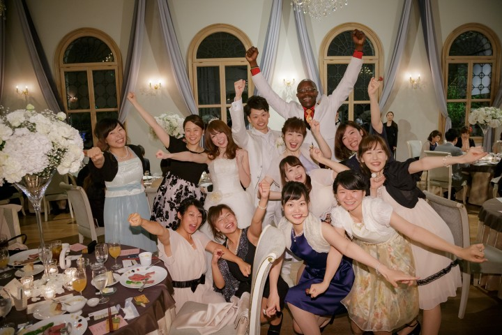 夢のように幸せな結婚式の1日