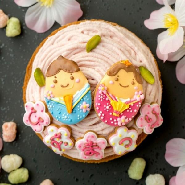 ひな祭りのケーキ|ピエトラセレーナ