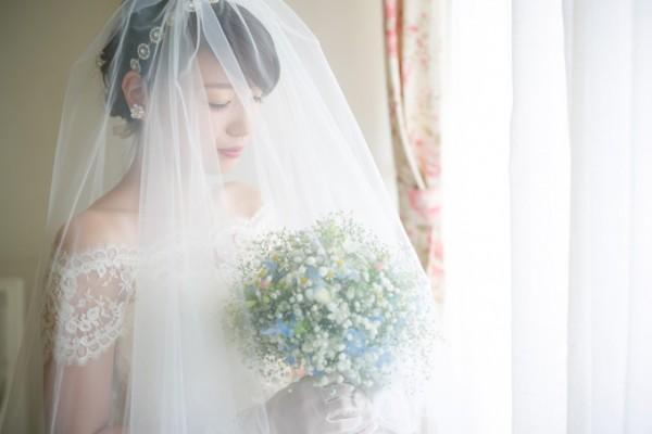 支度中の花嫁様|ピエトラセレーナ