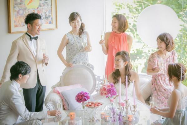 参列ゲストの皆さん|結婚式