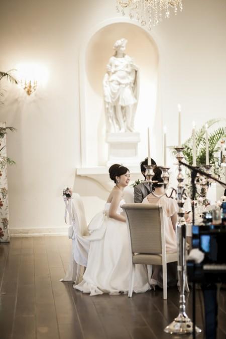 花嫁と友人|ピエトラセレーナ