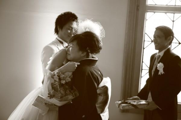 結婚式当日のご家族様
