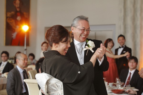 両親|結婚式当日