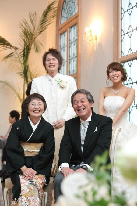 結婚式のご家族