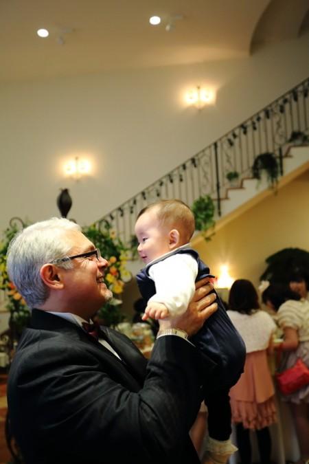 結婚式|赤ちゃん