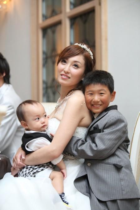 花嫁様とお子様|ピエトラセレーナ