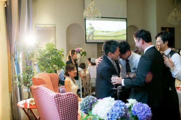 結婚式当日|パーティ
