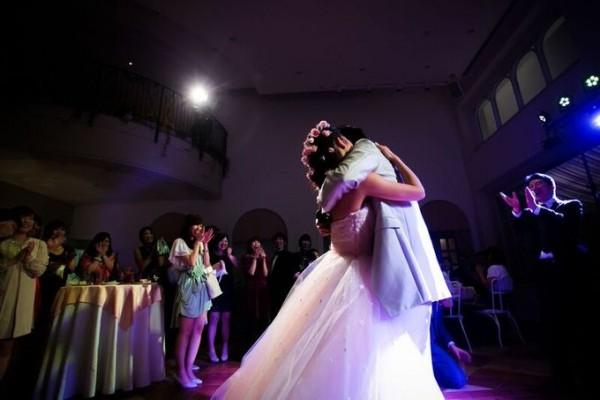 結婚式のワンシーン|ピエトラセレーナ