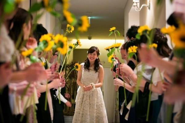 ひまわり|結婚式