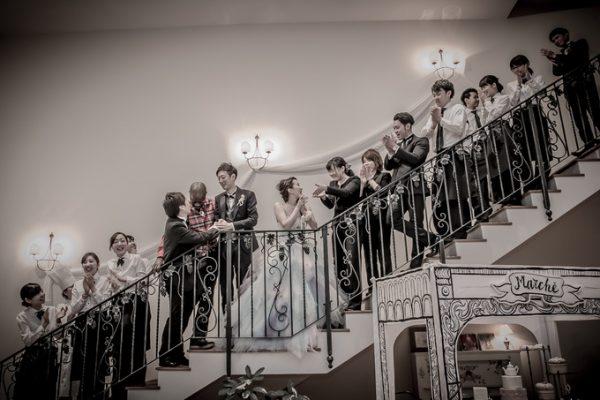 結婚式のスタッフ