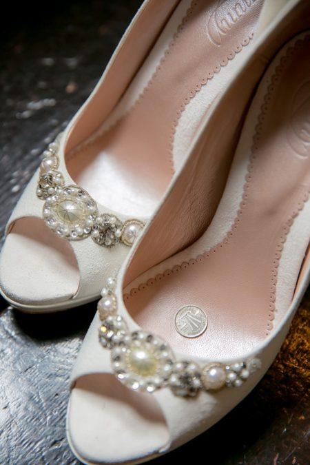 花嫁様の靴