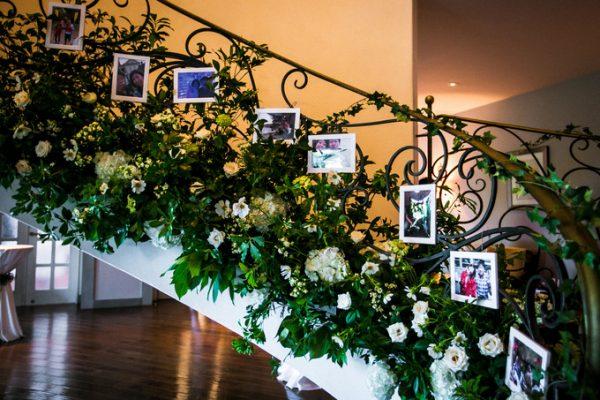 秋の結婚式の装飾
